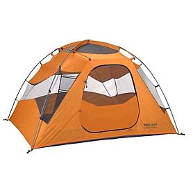 Фото 2 к товару Палатка четырехместная Marmot Limestone 4P pale pumpkin/terra cotta