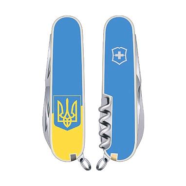 Нож Victorinox Climber Ukraine 13703.7R3 голубой