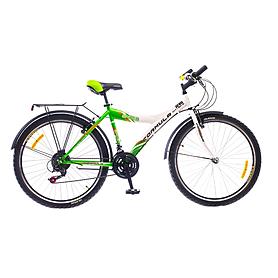 """Велосипед городской Formula Spider 26"""" 2015 бело-зеленый рама - 17"""""""