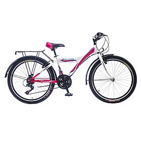 """Велосипед подростковый Formula Gallo 24"""" 2015 бело-розовый рама - 13"""""""