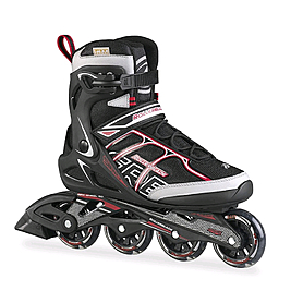 Коньки роликовые Rollerblade SIRIO COMP 2015 black/red - 45