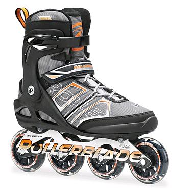 Коньки роликовые Rollerblade Sirio SK 82 2014 black/orange