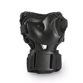 Фото 4 к товару Коньки роликовые раздвижные Rollerblade Spitfire Cube 2015 black/red + набор защиты