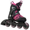 Коньки роликовые раздвижные K2 Marlee 2015 черно-розовые - фото 1