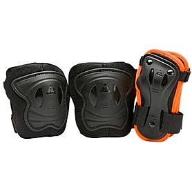 Фото 2 к товару Коньки роликовые раздвижные K2 Raider Pro Pack 2015 черно-оранжевые