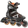 Коньки роликовые K2 VO2 100 X Pro 2014 серо-оранжевые - фото 1