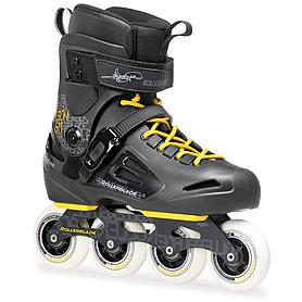 Коньки роликовые Rollerblade Fusion Gm 2014 черно-желтые