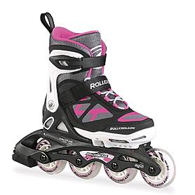 Коньки роликовые раздвижные Rollerblade Spitfire Ts G 2015 white/pink