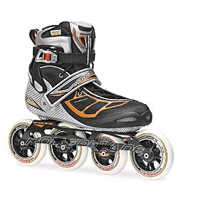 Коньки роликовые Rollerblade Tempest 100 2014 silver/orange
