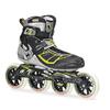 Коньки роликовые Rollerblade Tempest 110 2014 silver/green - фото 1
