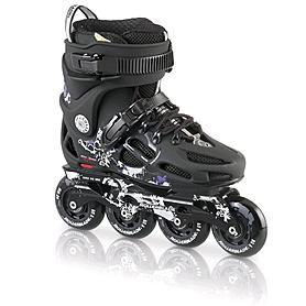Фото 1 к товару Коньки роликовые Rollerblade Twister 80 W 2013 black/violet