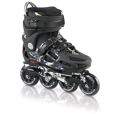Коньки роликовые Rollerblade Twister 80 W 2013 black/violet