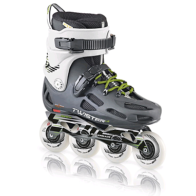 Коньки роликовые Rollerblade Twister LE 2013 grey/white