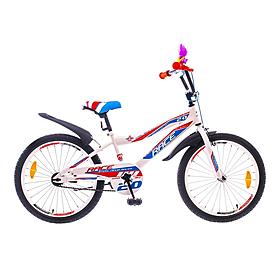 """Велосипед детский Formula Race SKD 20"""" 2015 бело-синий рама - 10,5"""""""
