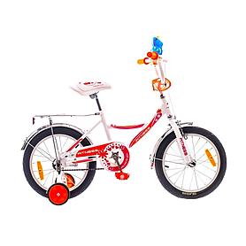 """Велосипед детский Formula Fitness 16"""" 2015 бело-оранжевый рама - 10"""""""