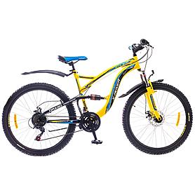 """Велосипед горный Formula X-Rover AM2 26"""" 2015 желто-черный рама - 18"""""""