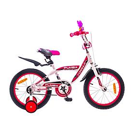 """Велосипед детский Formula Pumba SKD 16"""" 2015 бело-розовый рама - 10"""""""