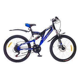 """Велосипед горный подростковый Formula Rodeo AM2 24"""" 2015 сине-черный рама - 17"""""""