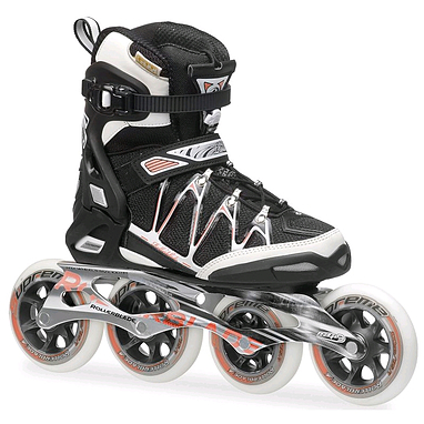 Коньки роликовые Rollerblade Igniter 100 W 2014 черно-розовые