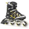 Коньки роликовые Rollerblade Igniter 90 XT 2014 черно-желтые - фото 1