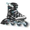 Коньки роликовые Rollerblade Igniter 90 XT W 2014 черно-голубые - фото 1