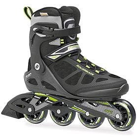 Фото 1 к товару Распродажа*! Коньки роликовые Rollerblade Macroblade 2014 черно-зеленые - 40.5