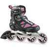 Коньки роликовые Rollerblade Macroblade 100 W 2015 черно-розовые - фото 1
