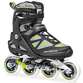 Коньки роликовые Rollerblade Macroblade 90 2014 черно-зеленые