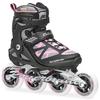 Коньки роликовые Rollerblade Macroblade 90 W 2014 черно-розовые - фото 1