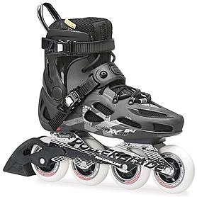 Коньки роликовые Rollerblade Maxxum 84 2014 черно-серые