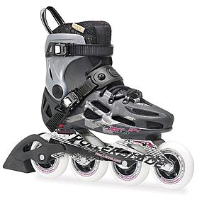 Фото 1 к товару Коньки роликовые Rollerblade Maxxum 84 W 2014 серебристо-серые