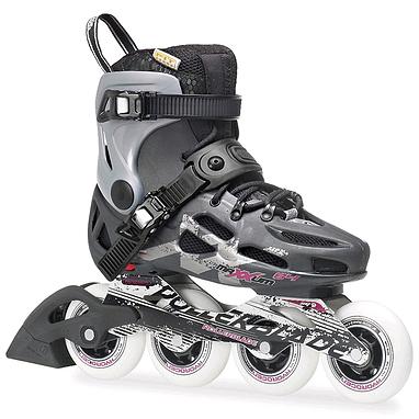 Коньки роликовые Rollerblade Maxxum 84 W 2014 серебристо-серые