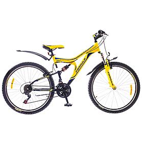 """Велосипед горный Formula Safari AM2 26"""" 2015 черно-желтый рама - 18"""""""