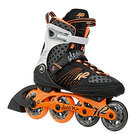 Коньки роликовые K2 Alexis X Pro 2015 черно-оранжевые