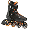 Коньки роликовые K2 F.I.T. Pro 2014 черно-оранжевые - фото 1