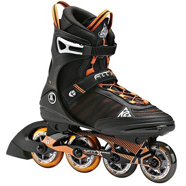 Коньки роликовые K2 F.I.T. Pro 2014 черно-оранжевые