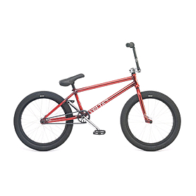 "Велосипед BMX WeThePeople Volta 20"" 2015 translucent red"