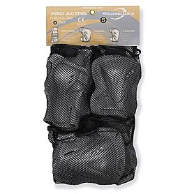 Защита для катания на роликах (комплект) Rollerblade Pro N Activa 3 Pack W серебристая, размер - L