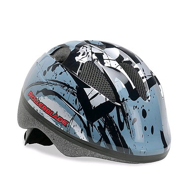 Шлем Rollerblade Zap Kid серебристый с черным, размер - S