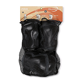 Защита для катания (комплект) Rollerblade Pro 3 Pack серая, размер - L