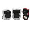 Защита для катания на роликах (комплект) K2 Performance M Pad Set черная с красным, размер - M - фото 1