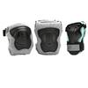Защита для катания на роликах (комплект) K2 Performance M Pad Set черная с бирюзовым, размер - L - фото 1