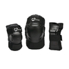Защита для катания на роликах (комплект) K2 Prime M Pad Set черная, размер - S - фото 1