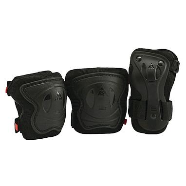 Защита для катания на роликах (комплект) К2 SK8 Hero Pro JR Pad Set черная, размер - XS