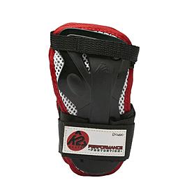Фото 1 к товару Защита для катания на роликах (запястье) К2 Prime M Wrist Guard черный с красным, размер - M