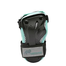 Защита для катания на роликах (запястье) К2 Prime M Wrist Guard черный с бирюзовым, размер - S