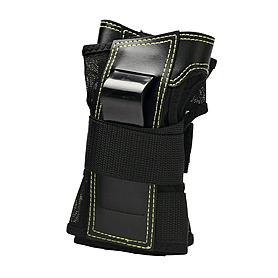 Фото 1 к товару Защита для катания на роликах (запястье) К2 Prime M Wrist Guard черная с зеленым, размер - L