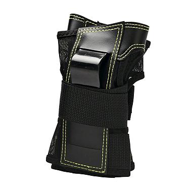 Защита для катания на роликах (запястье) К2 Prime M Wrist Guard черная с зеленым, размер - L