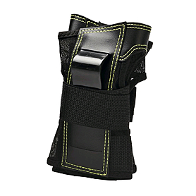 Защита для катания на роликах (запястье) К2 Prime M Wrist Guard черная с зеленым, размер - M