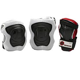 Фото 1 к товару Защита для катания на роликах (комплект) K2 Performance M черный с красным, размер - M